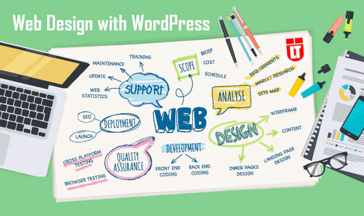 Web Design with WordPress (CMS)